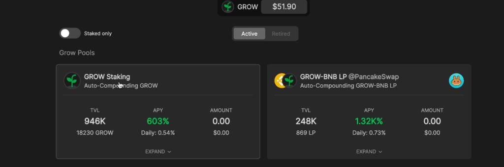 スクリーンショット 2021 06 26 21.51.07 1024x341 - 【BSC】Growing.fiの紹介!資産管理ツールとファームを兼ね備えたハイブリッドプロトコル【DeFi】