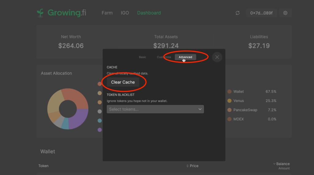 スクリーンショット 2021 06 26 9.49.08 1024x571 - 【BSC】Growing.fiの紹介!資産管理ツールとファームを兼ね備えたハイブリッドプロトコル【DeFi】