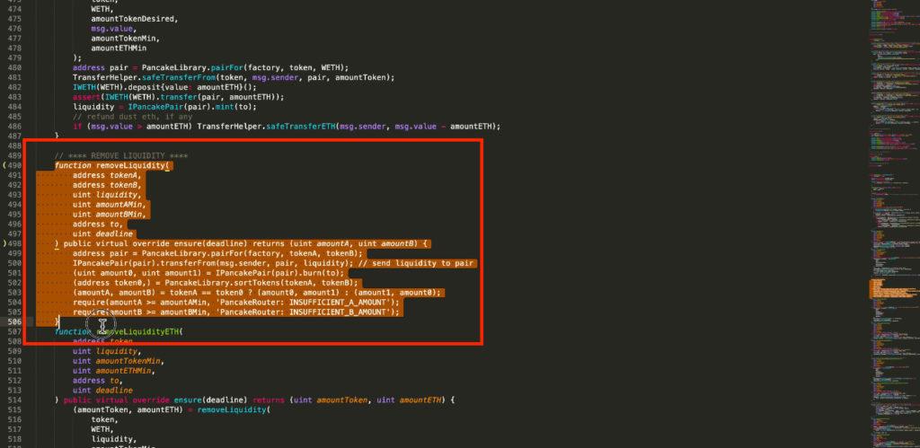 スクリーンショット 2021 07 07 18.56.23 1024x499 - 【DeFi】直接コントラクトからLPを解体する方法を徹底解説します。