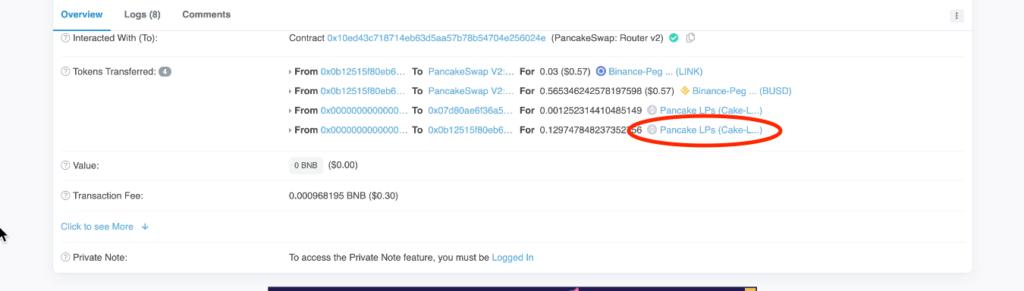 スクリーンショット 2021 07 10 3.03.01 1024x291 - 【DeFi】直接コントラクトからLPを解体する方法を徹底解説します。
