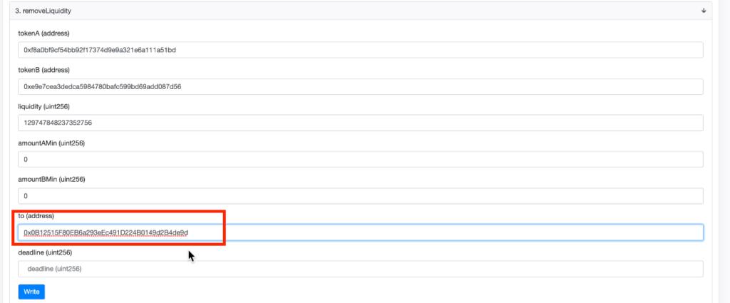 スクリーンショット 2021 07 10 4.15.01 1024x425 - 【DeFi】直接コントラクトからLPを解体する方法を徹底解説します。